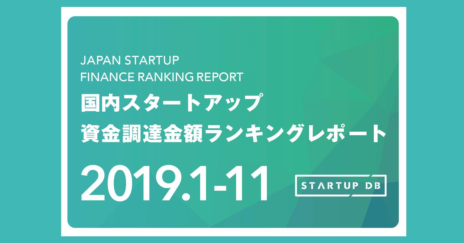 【STARTUP DB】調査結果 国内スタートアップ資金調達ランキング スマートニュースがシリーズEで合計約100億円を調達し、3位に浮上