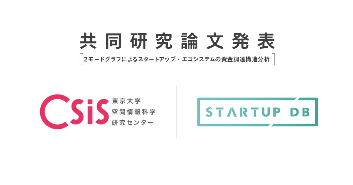 フォースタートアップス、東京大学と産学共同研究「スタートアップ・エコシステムの 構造分析」について人工知能学会全国大会(第34回)にて結果発表