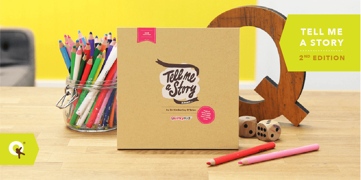 Tell Me A Story Cards Hit QK Shelves