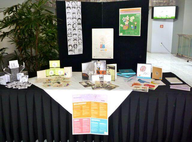 Quirky kid Resources beeing displayed at Involve Conference in New Zeland