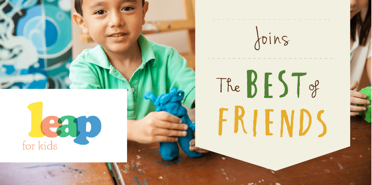 LEAP for Kids and 'Best of Friends' Program - Emma Cooney