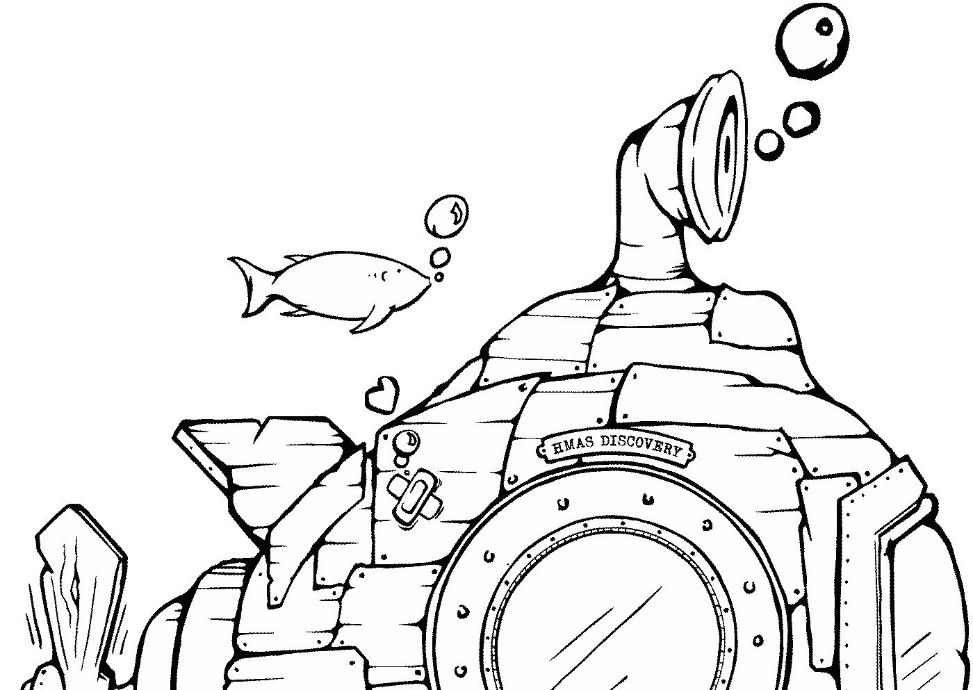 Atlantis Outside School Care HMAS Discovery Illustration
