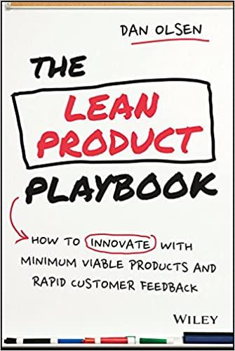 The Lean Product Playbook - Dan Olsen