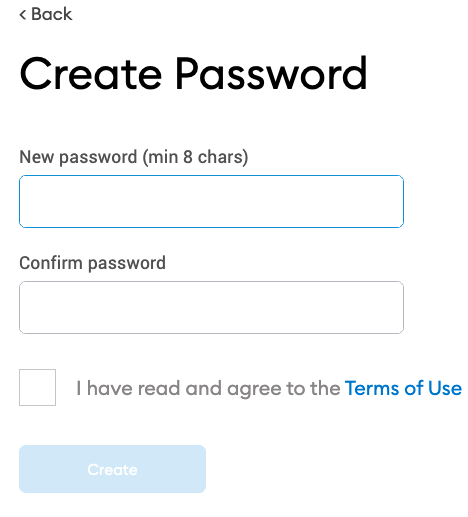 How to Create Your Password on MetaMask