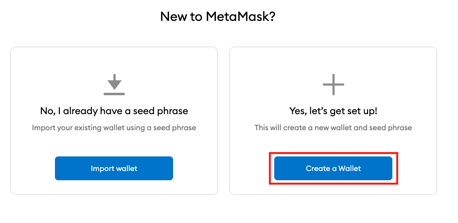How to Create Your Wallet On MetaMask