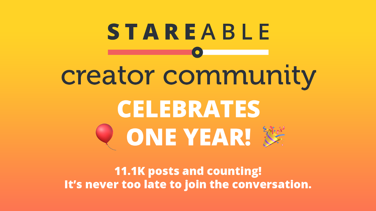 The Stareable Creator Community