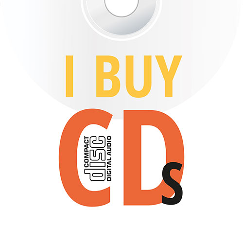 I buy CDs