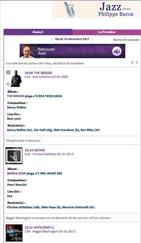 RTBF - Radio Muziq 3