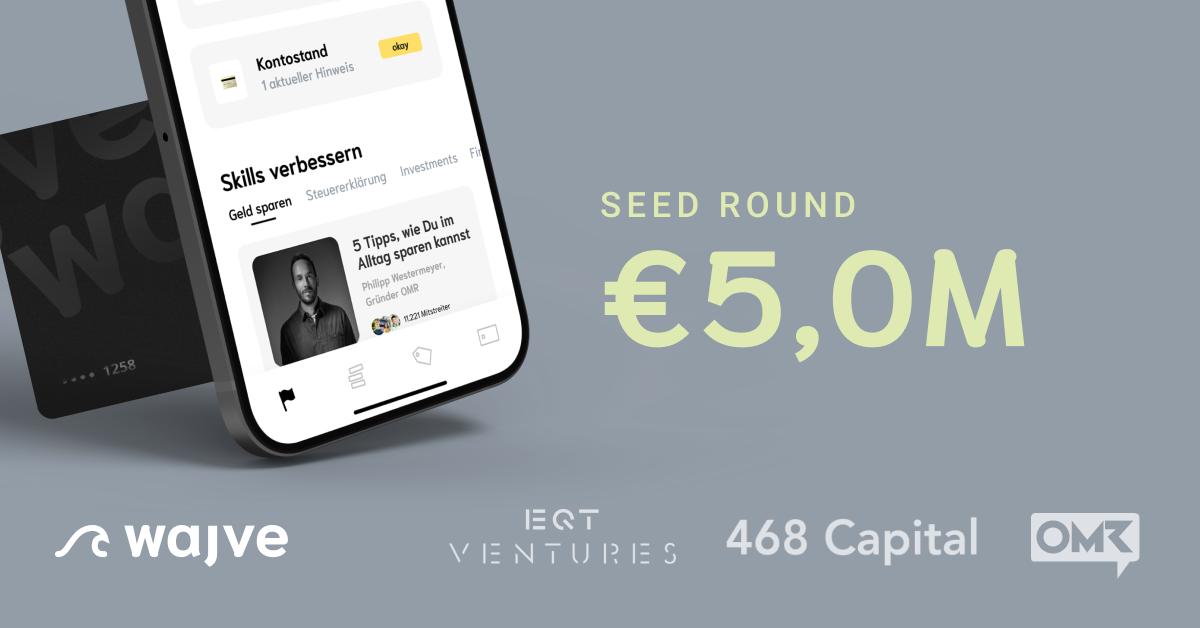 wajve secures €5 million seed funding