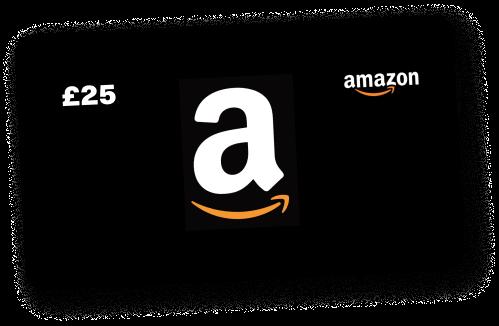 Claim your £25 Amazon.co.uk Gift Card