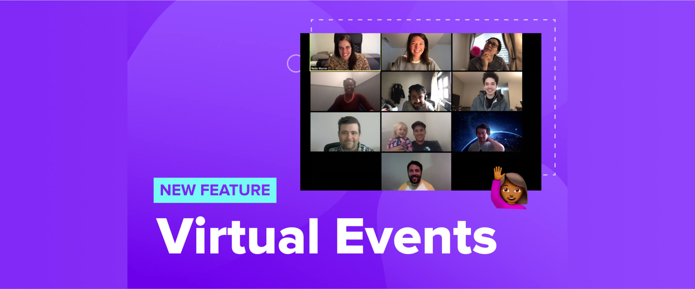 New feature - virtual events