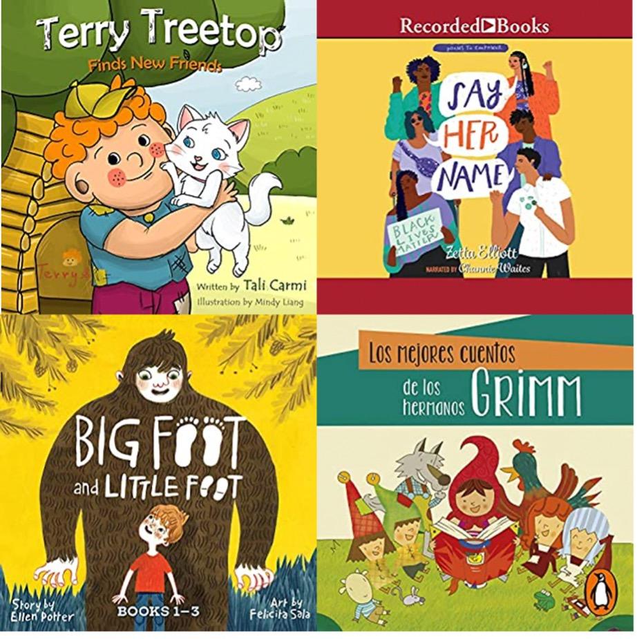 Four different books for children