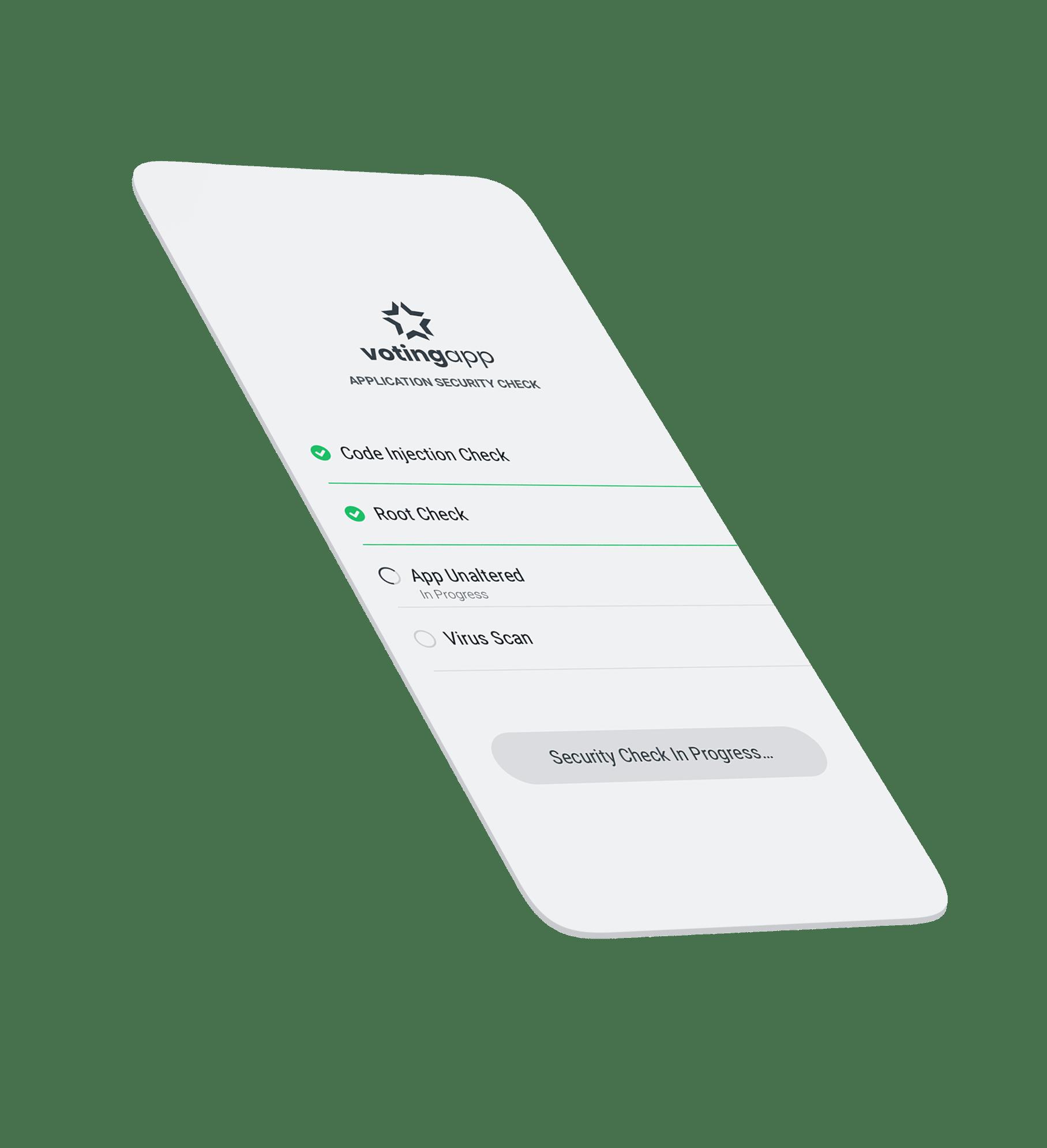 Voting App Security