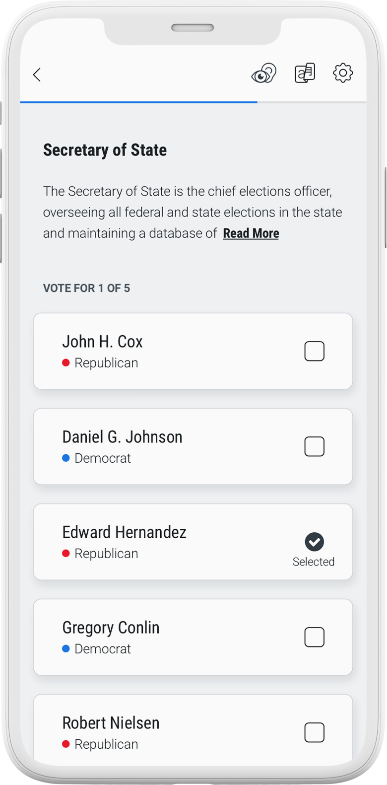 Voting App Contest