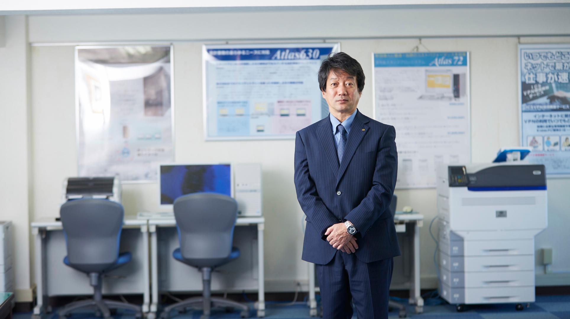 日本ICS株式会社 システム開発部 部長 宇川久雄氏