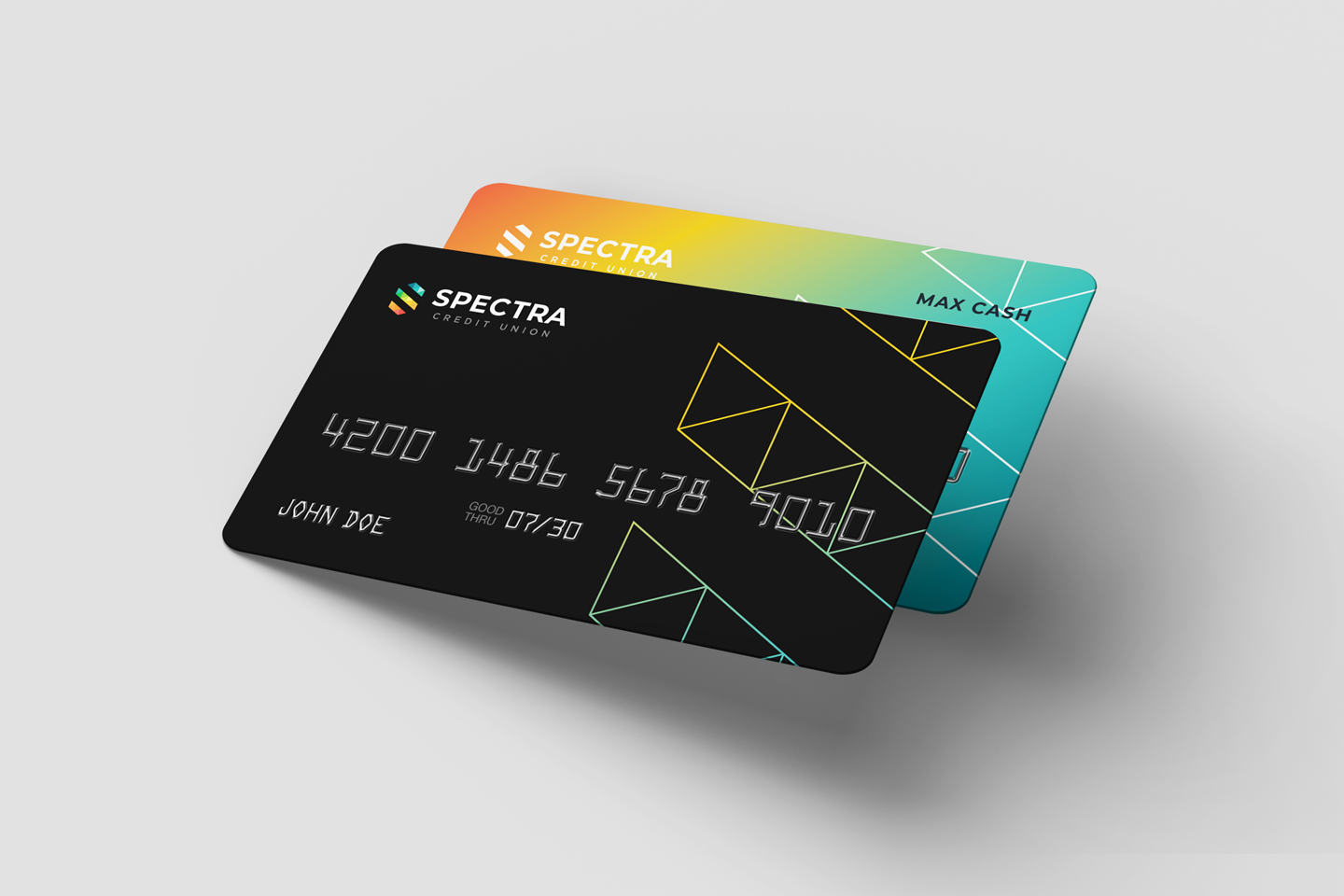 Sneak Peek of our new Debit and Credit Cards