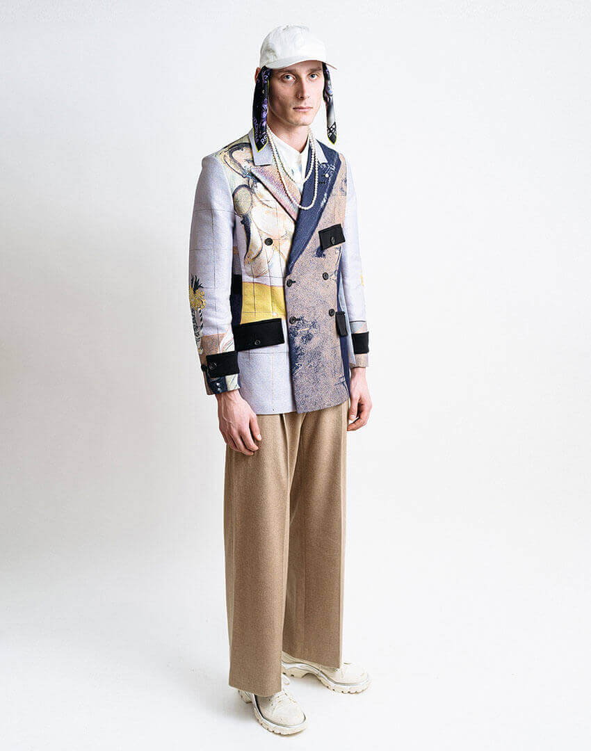 PSEUDONYM AW19 fashion/apparel collection, Look 03.