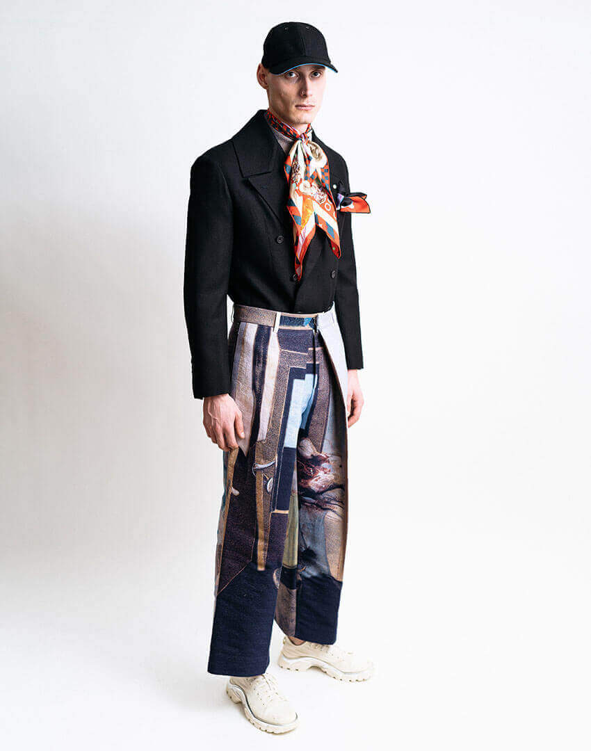 PSEUDONYM AW19 fashion/apparel collection, Look 07.