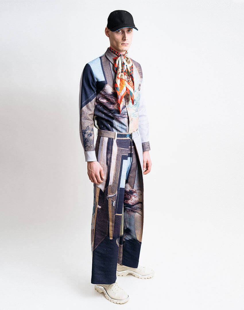PSEUDONYM AW19 fashion/apparel collection, Look 08.