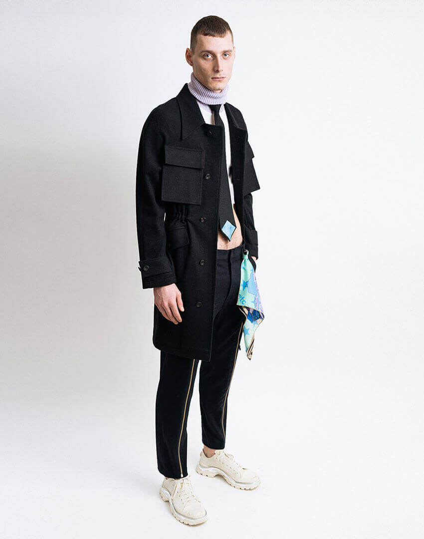 PSEUDONYM AW19 fashion/apparel collection, Look 09.