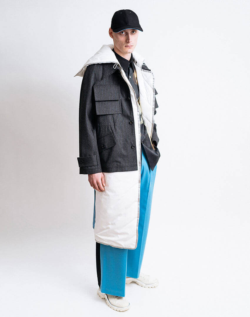 PSEUDONYM AW19 fashion/apparel collection, Look 11.