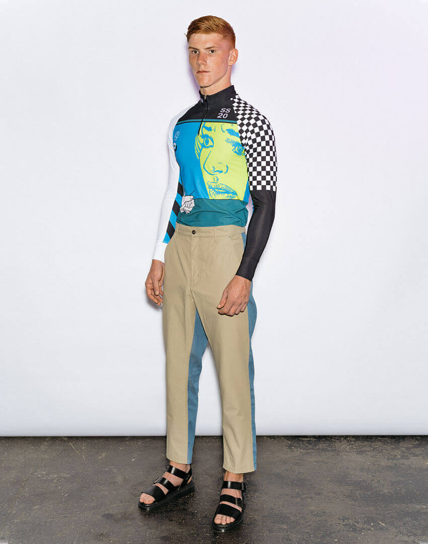 PSEUDONYM SS20 fashion/apparel collection, Look 15.