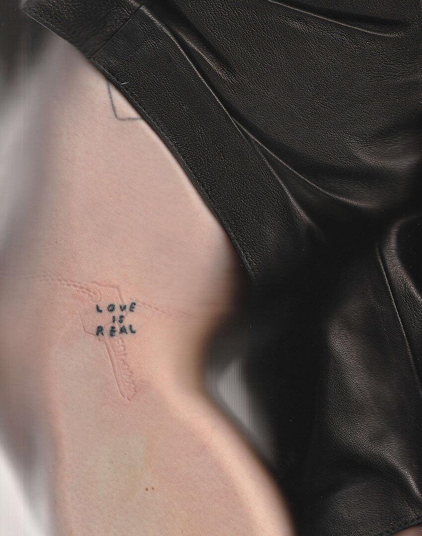 PSEUDONYM SS20 fashion/apparel campaign, Skin Imprint 01—thigh.