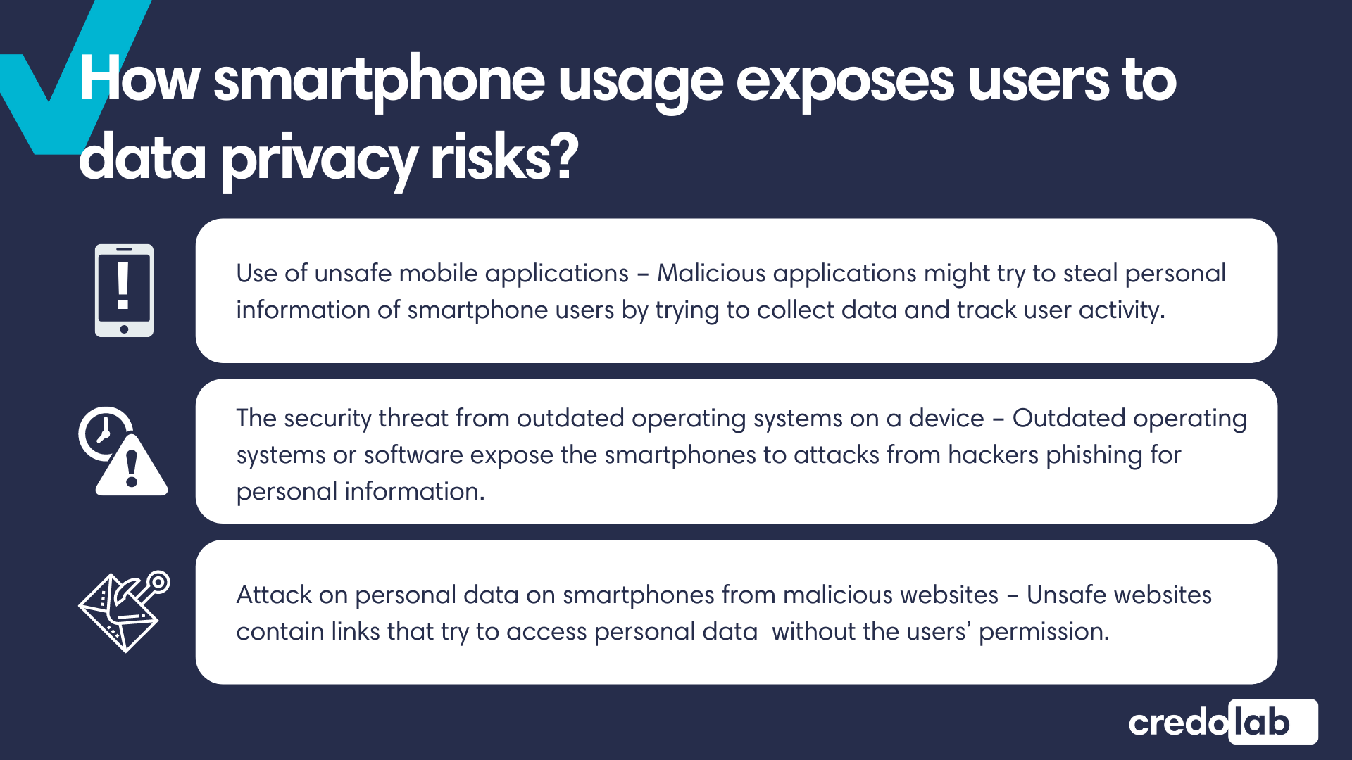 Credolab - Infographic: Smartphones are everywhere but your personal data shouldn't be