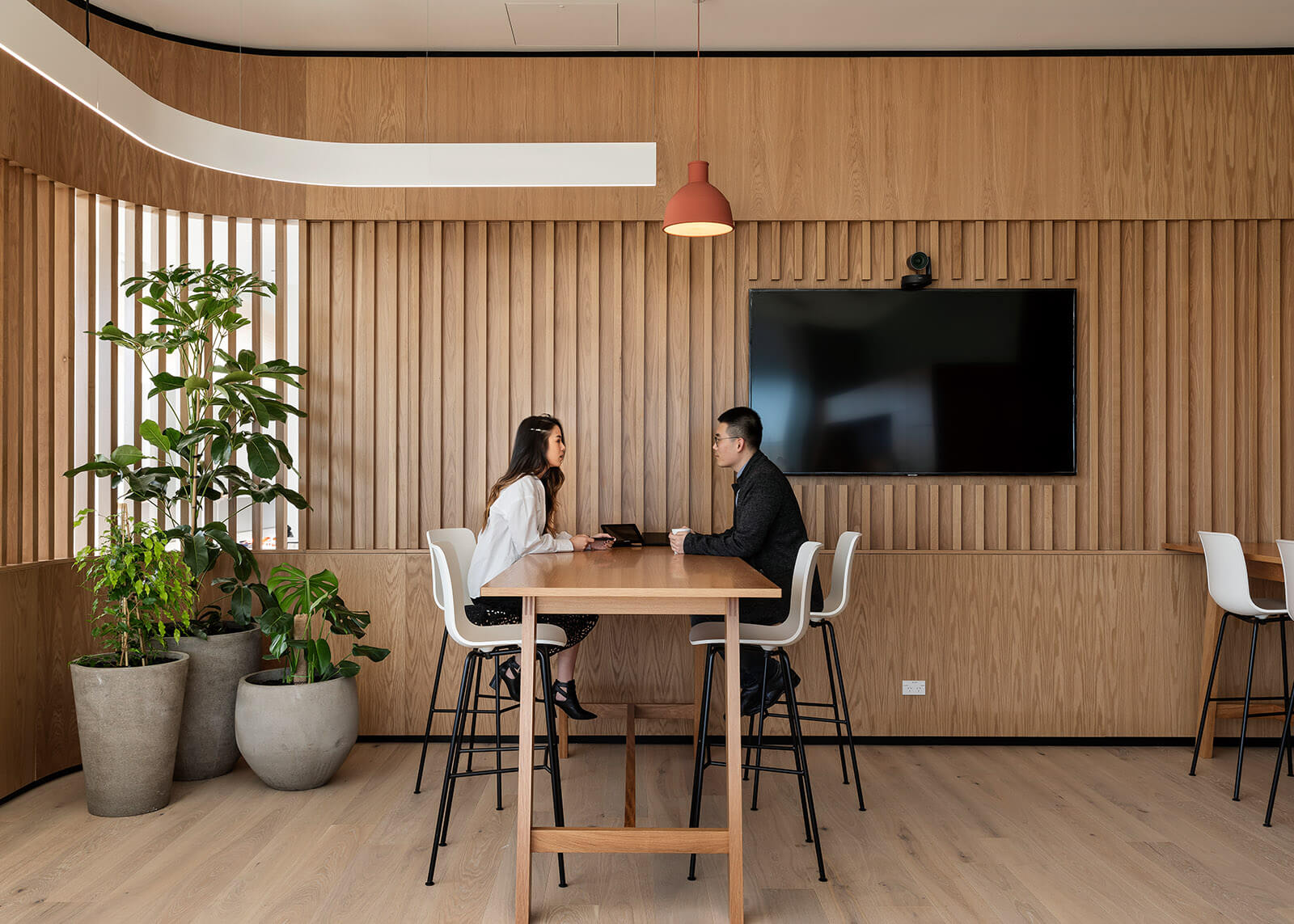 Flexible spaces for collaboration