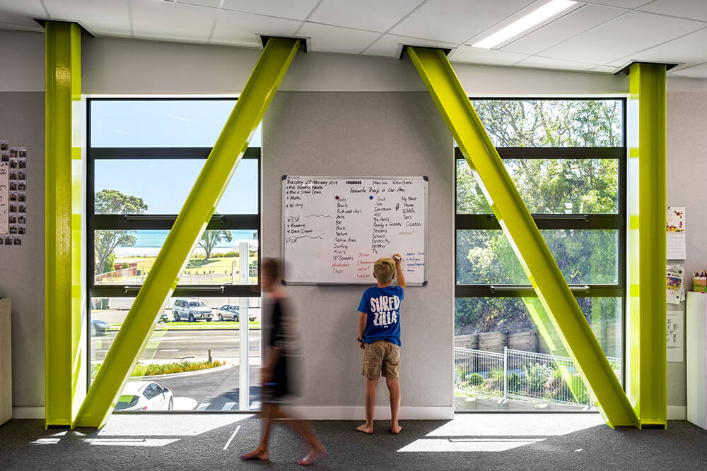 Hard-wearing and easy to clean learning spaces