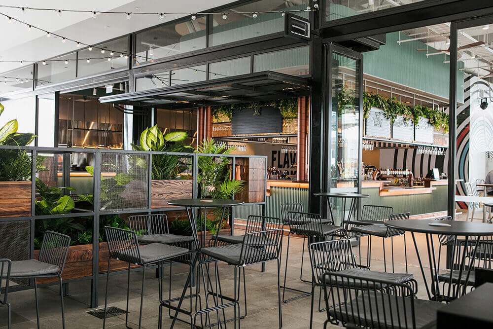 Birtinya - zoned seating for patrons to enjoy the relaxed dining atmosphere