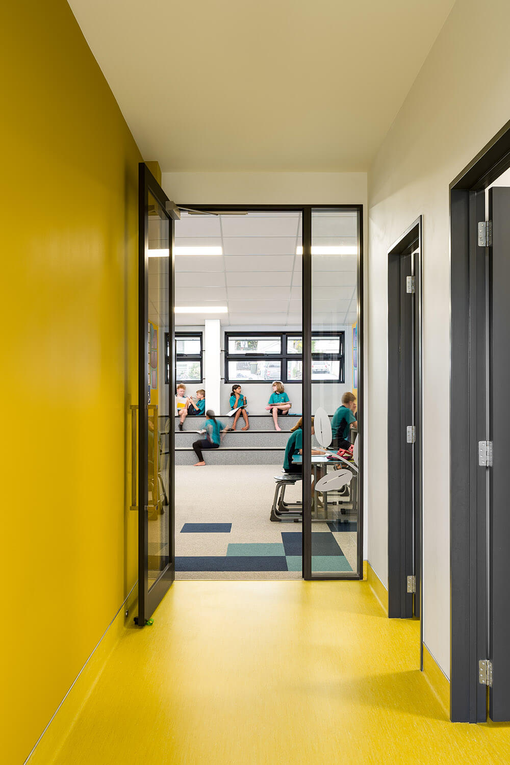 Bright interiors for accessible wayfinding