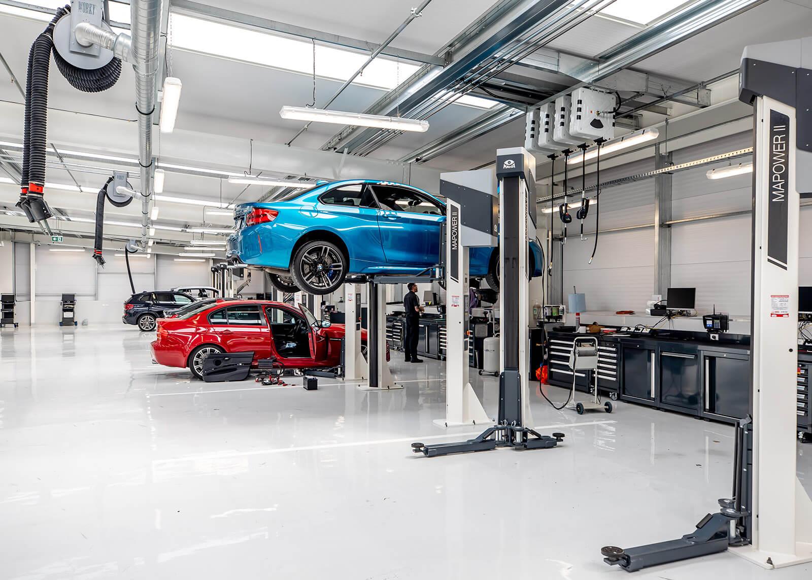 Servicing BMW vehicles