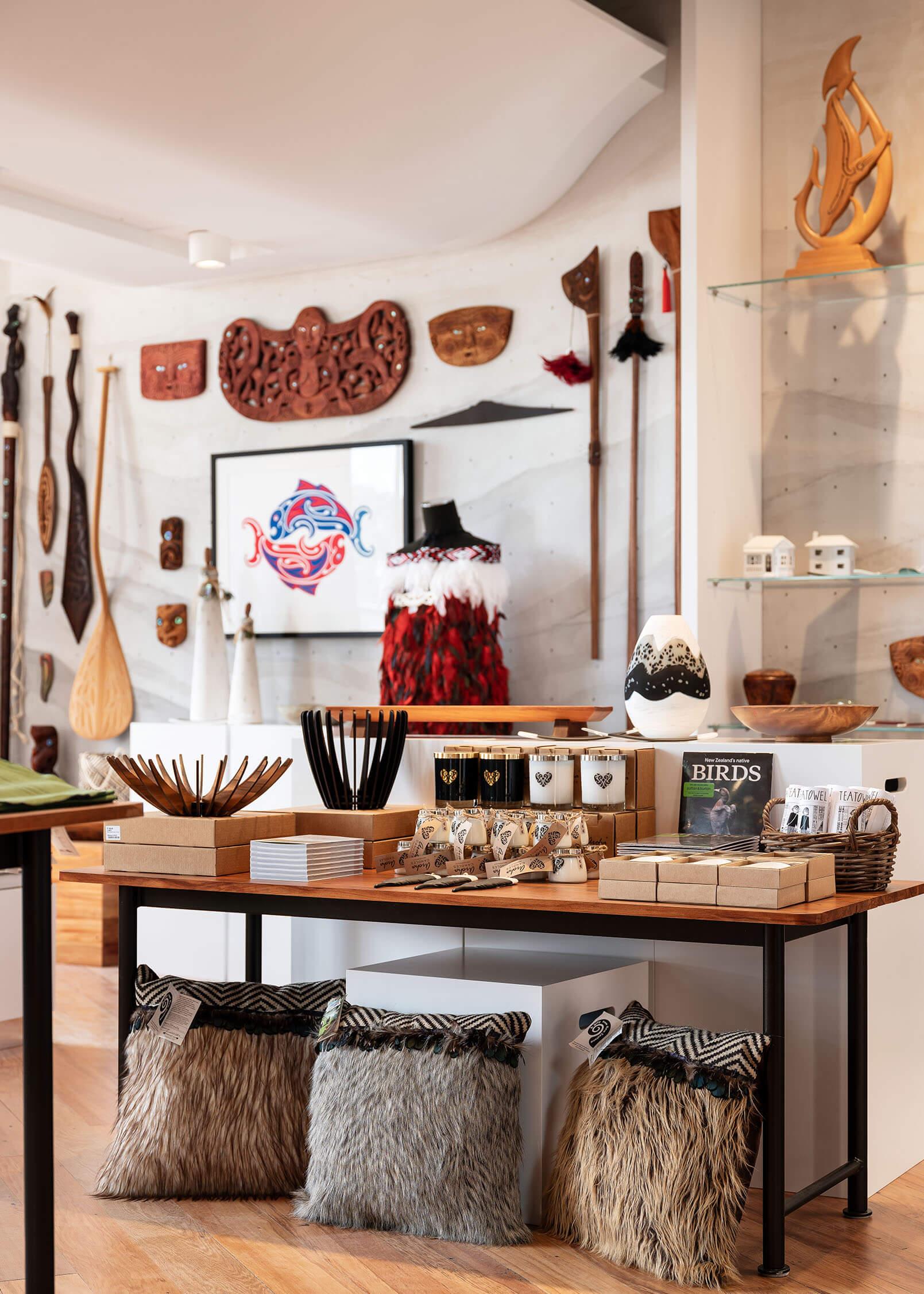 Bespoke wall-hanging solutions showcase Māori & Pacific art pieces