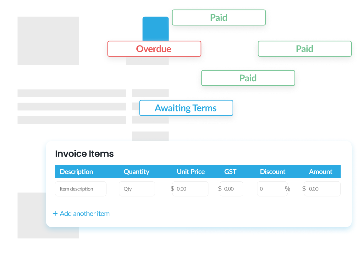 QuickaPay Invoices