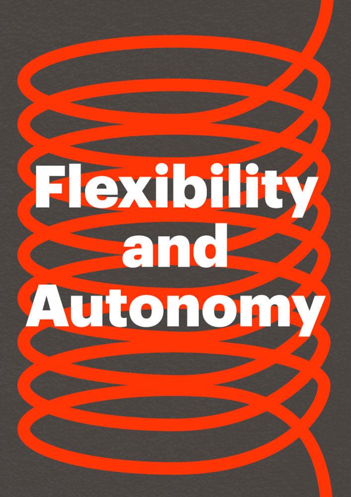 Flexibility and Autonomy