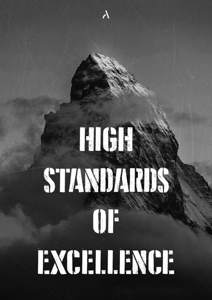 High standards of Excellence