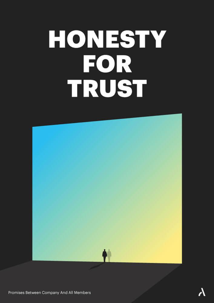 Honesty for Trust