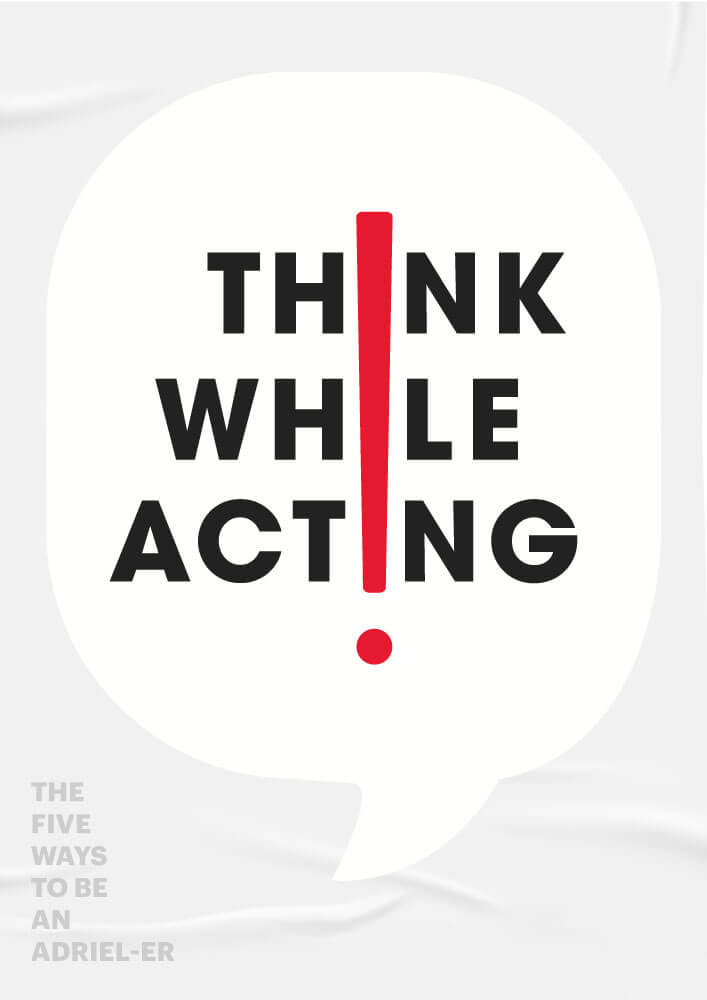 Think while acting