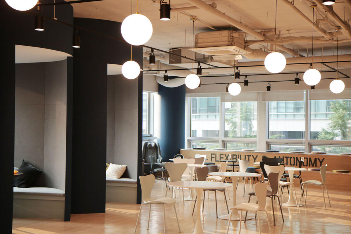 Adriel Space - Cafeteria