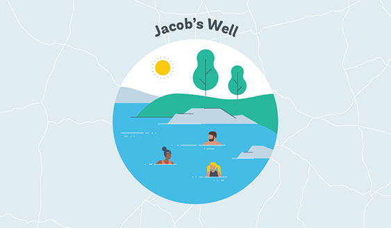jacobs well graphic