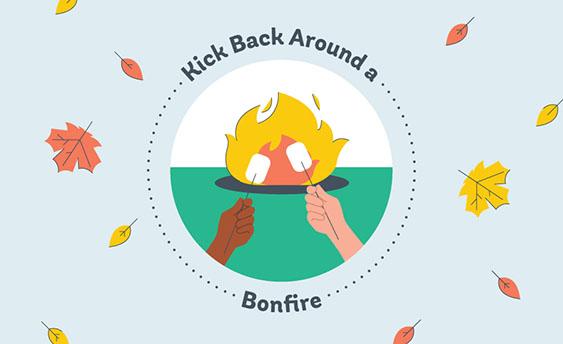 bonfire graphic
