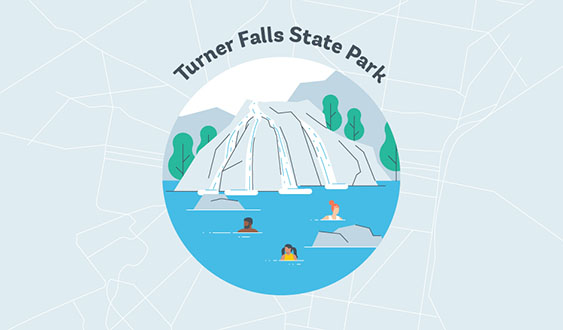 turner falls state park graphic