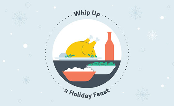 holiday feast graphic