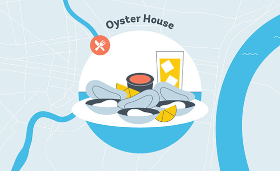 oyster house graphic