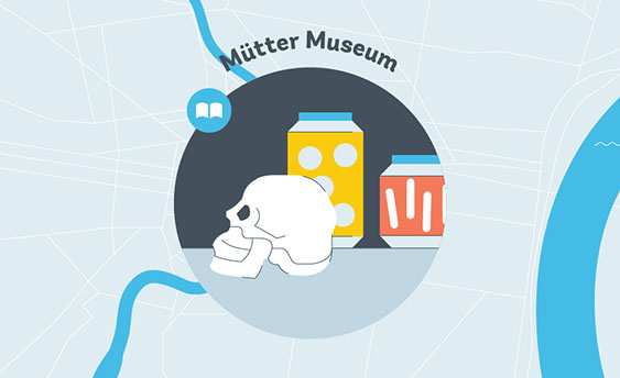 mutter museum graphic