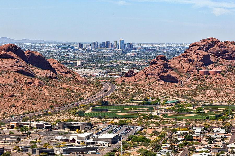 Phoenix Aerial View