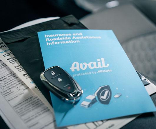 car keys on avail materials