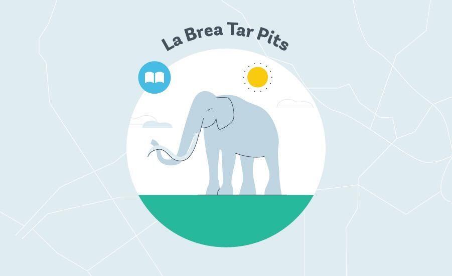 La Brea Tar Pits Graphic