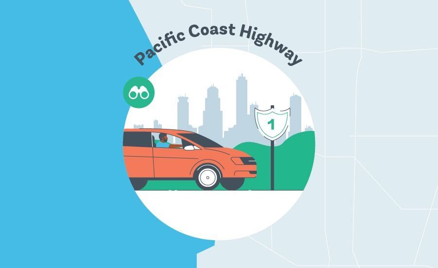 Pacific Coast Highway Graphic
